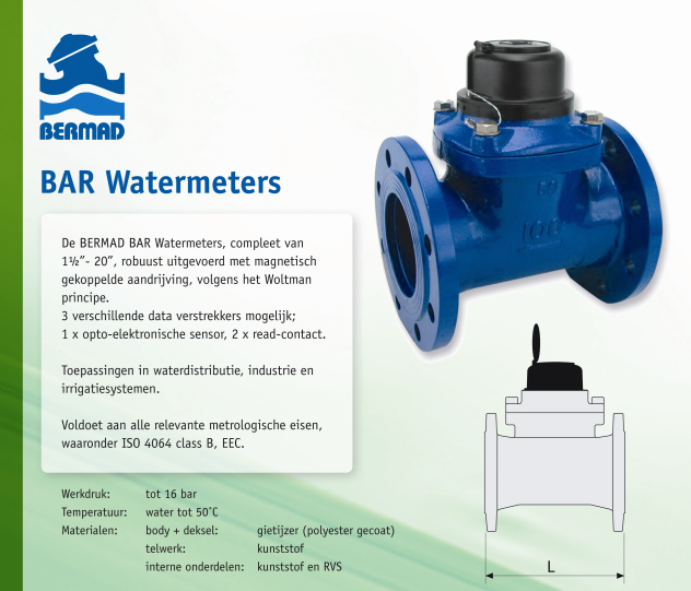 Flyer BAR watermeter