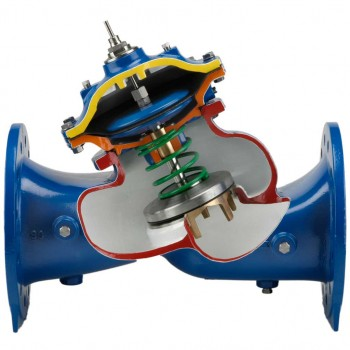 Bermad Ir Series 700 Advanced Diaphragm Valve Uvar